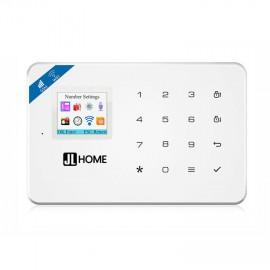 CW18 Wifi กล่องควบคุม ระบบกันขโมยบ้าน หน้าจอ4สี2นิ้ว แป้นกดสัมผัส รองรับซิม2G/4G WIFI แจ้งเตือนผ่านมือถือ/แอพ