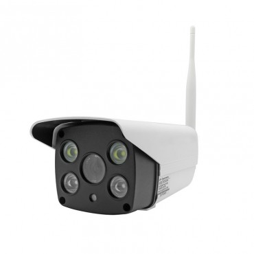 CM23 Wireless outdoor cctv camera with infrared and led white light IP65