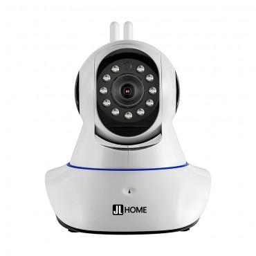 CM06 กล้องวงจรปิดไร้สาย ควบคุมผ่านแอพ รองรับSDcard คมชัด 1080P หมุนได้รอบทิศทาง