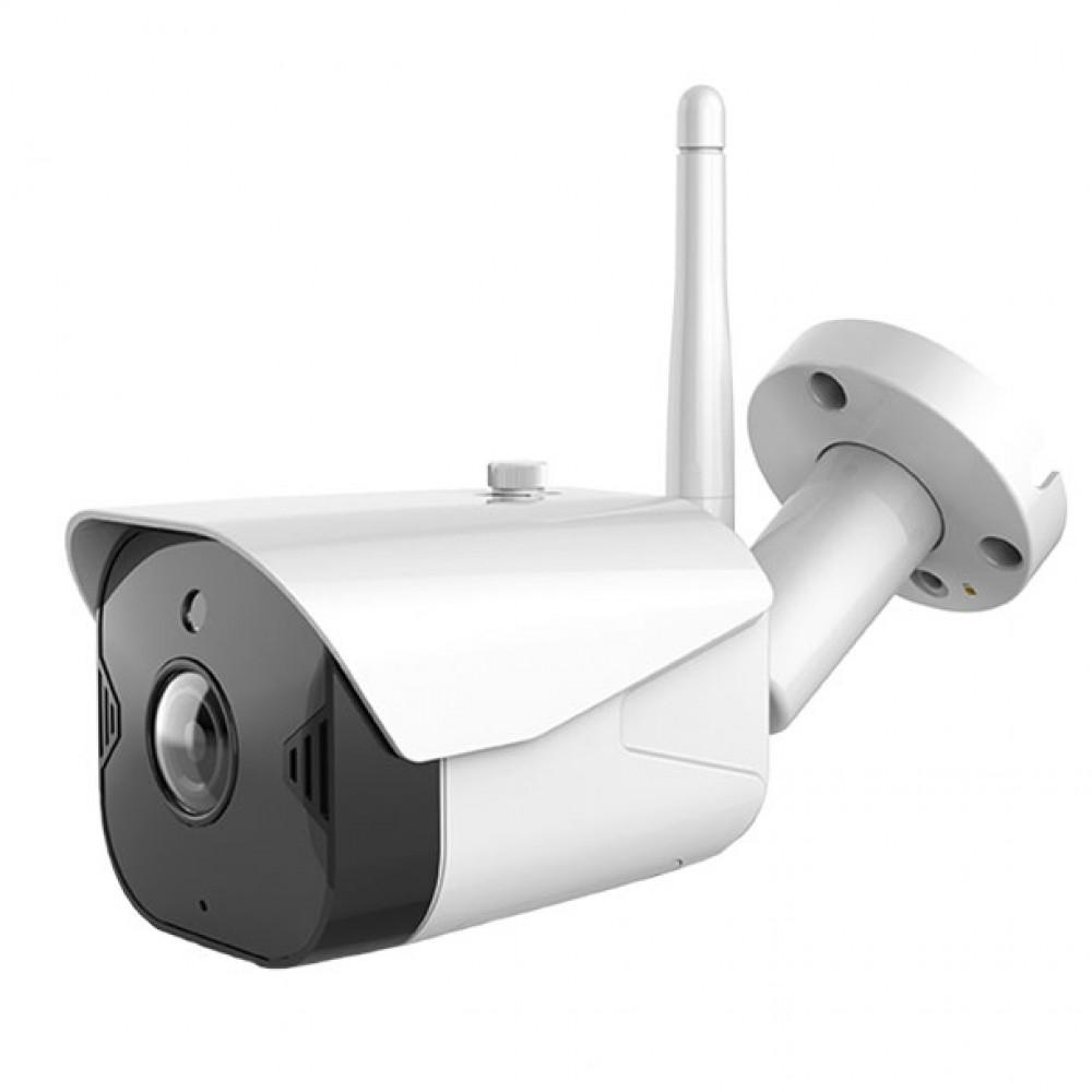 CM42 กล้องวงจรปิดไร้สาย ภายนอกบ้าน 2M FullHD กันน้ำกันฝุ่นIP65 มีอินฟาเรด บันทึก24ชม.