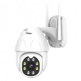 CM45 กล้องวงจรปิดไร้สายนอกบ้าน หมุนได้รอบทิศทาง 2M FullHD ภาพคมชัด กันน้ำกันฝุ่น