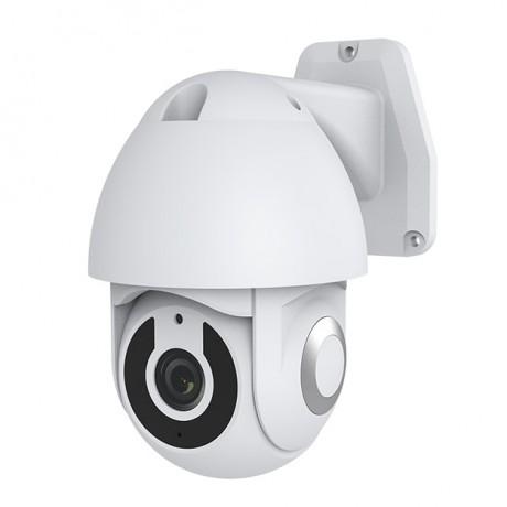 CM46 กล้องวงจรปิดไร้สายนอกบ้าน หมุนได้รอบทิศทาง 2M FullHD ภาพคมชัด กันน้ำกันฝุ่น