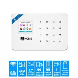 CW18 Wifi กล่องควบคุม ระบบกันขโมยบ้าน หน้าจอ4สี1.5นิ้ว แป้นกดสัมผัส รองรับซิม2G WIFI แจ้งเตือนผ่านมือถือ/แอพ