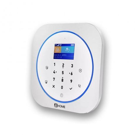 CW22 กล่องควบคุม สัญญาณกันขโมย WIFI/GSM/2G 100เซ็นเซอร์10รีโมท รองรับ RFID และไซเรนไร้สาย