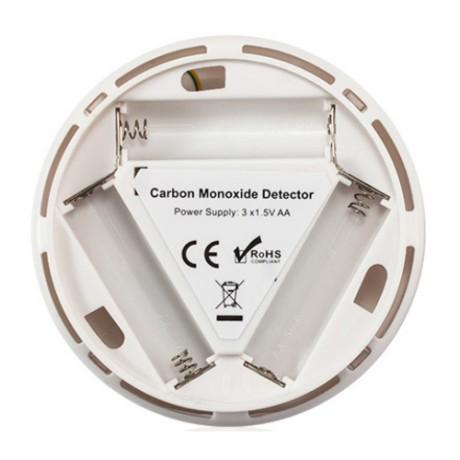 DEC62 เซ็นเซอร์ตรวจจับแก๊สคาร์บอนมอนอกไซด์ CO gas หน้าจอดิจิตอล ไซเรนและปุ่มทดสอบในตัว