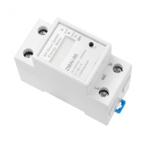 HEM01 เครื่องวัดพลังงานเฟสเดียวอัจฉริยะ WIFI
