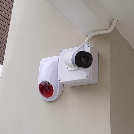 งานติดตั้งระบบสัญญาณกันขโมยบ้านและกล้องวงจรปิดไร้สายนอกบ้าน หมู่บ้านพฤกษ์พิมานการ์เด้น ปทุมธานี